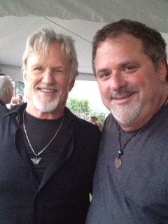 Bob DiPiero and Kris Kristofferson attend dinner at the Country Music Hall of Fame